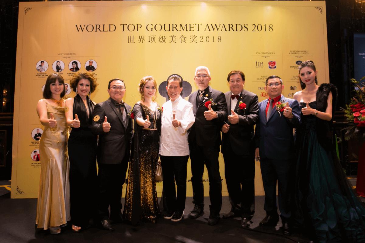 world gourmet awards 2018